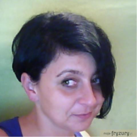 Wasze Fryzury Bobciemne Włosykrótkie Włosy